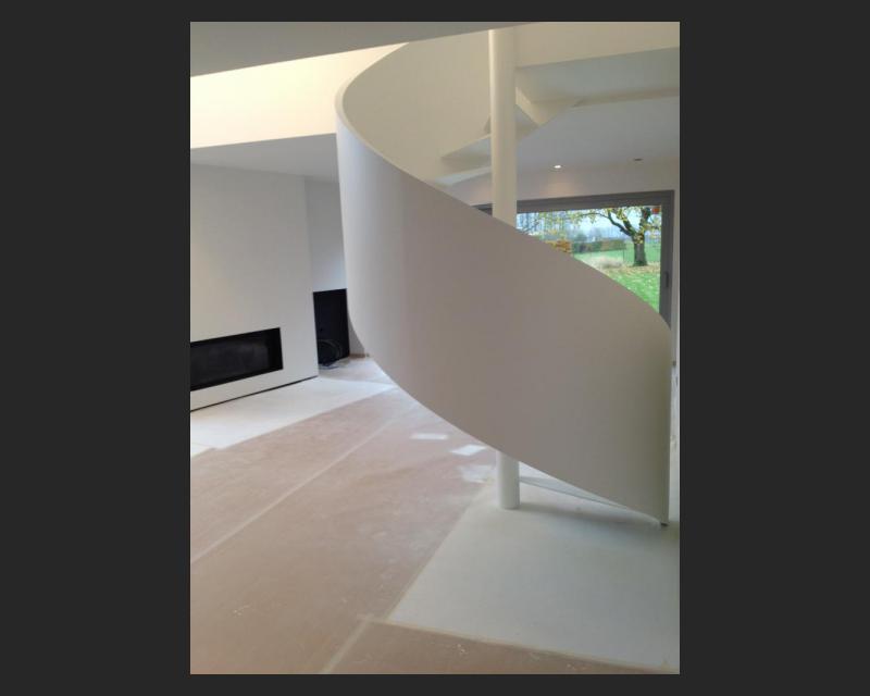 Vloeiend trapgeheel