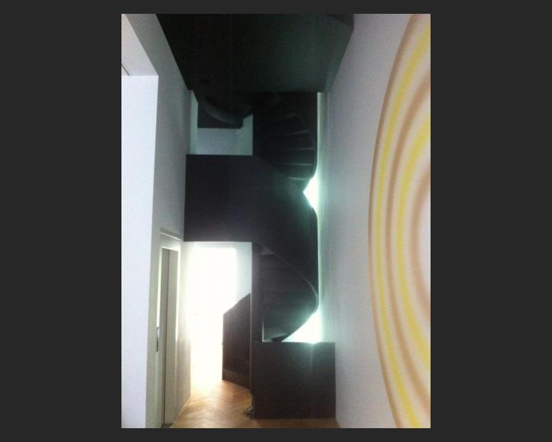 Afgewerkte trap